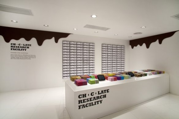 Chocolate Research Facility store vía http://sergetheconcierge.typepad.com/
